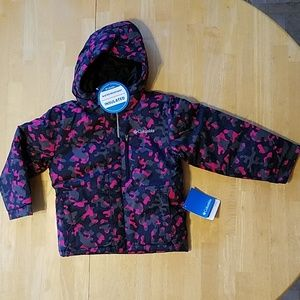 Columbia xxs (4/5) kids winter jacket camouflage